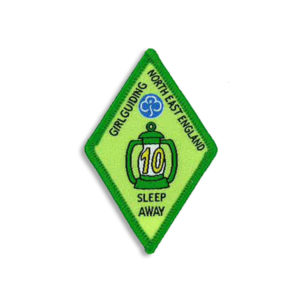 Sleep Away Badge - 10 Sleep