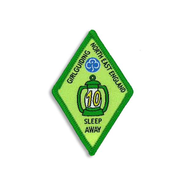 Sleep Away Badge - 10 Sleep