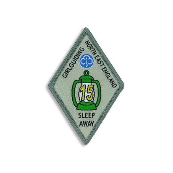 Sleep Away Badge - 15 Sleep