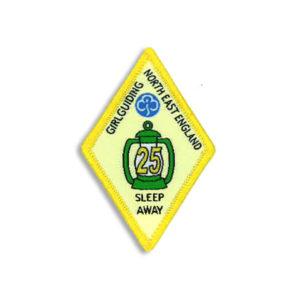 Sleep Away Badge - 25 Sleep