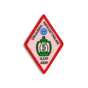 Sleep Away Badge - 5 Sleep