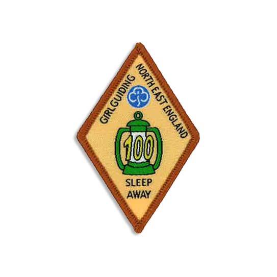 Sleep Away Badge - 100 Sleeps