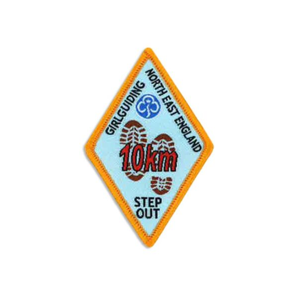 Step Out Badge – 10km