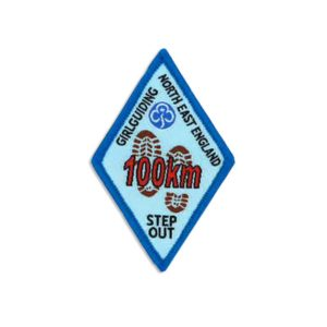 Step Out Badge – 100km