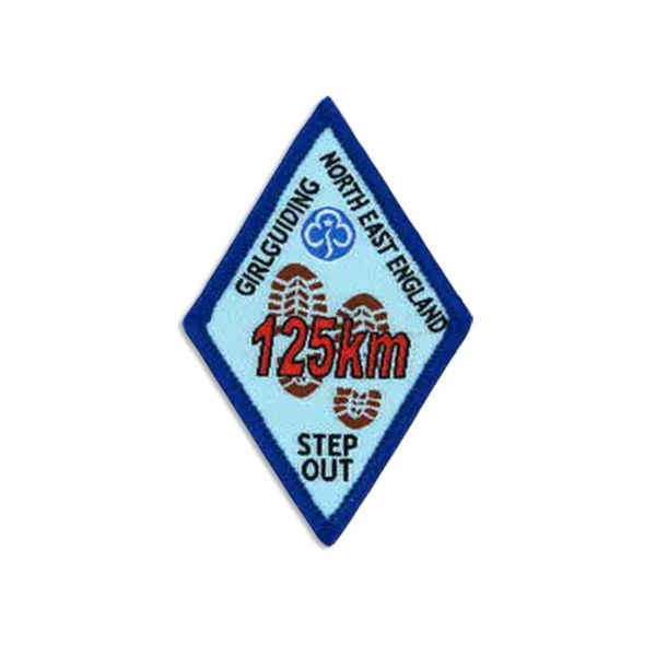 Step Out Badge – 125km