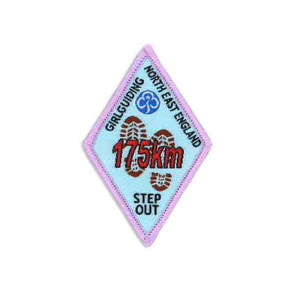 Step Out Badge – 175km