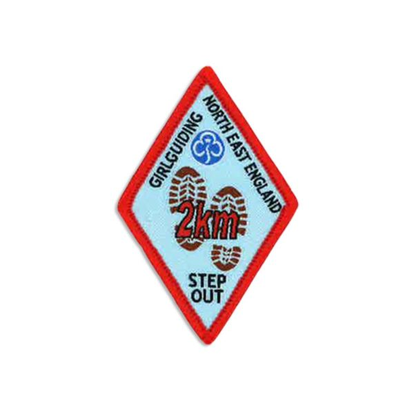 Step Out Badge – 2km