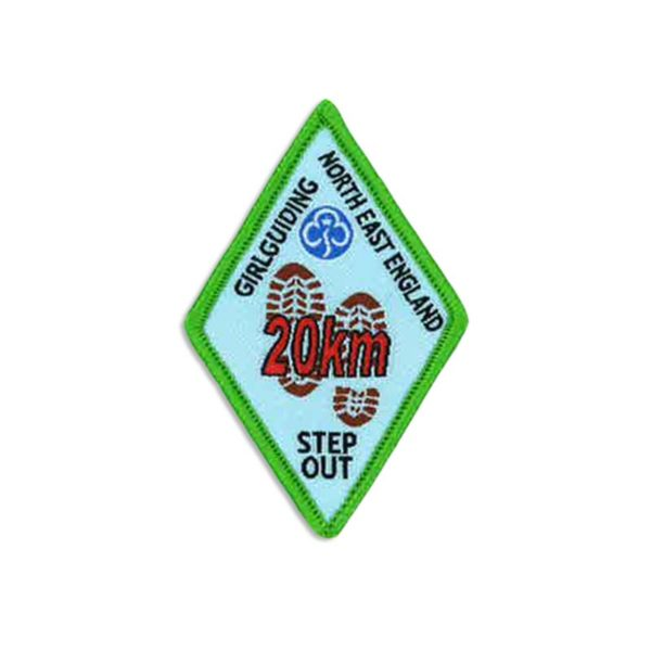 Step Out Badge – 20km