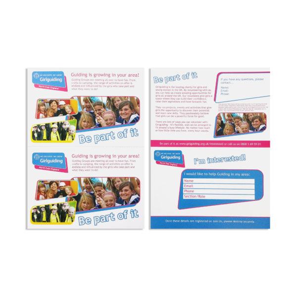 Volunteer Contact Postcard