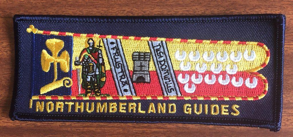 Girlguiding North East England Northumberland badge