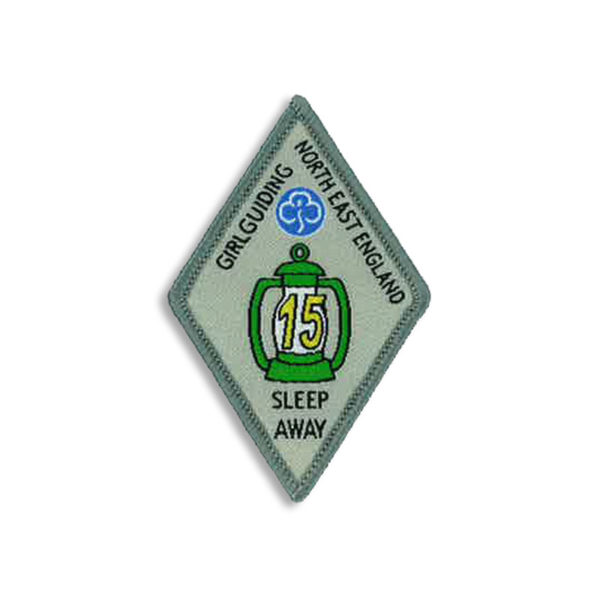 Sleep Away Badge - 15 Sleep