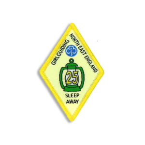 Sleep Away Badge - 25 Sleep