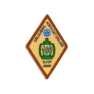 Sleep Away Badge - 100 Sleeps