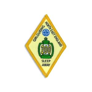 Sleep Away Badge - 200 Sleeps
