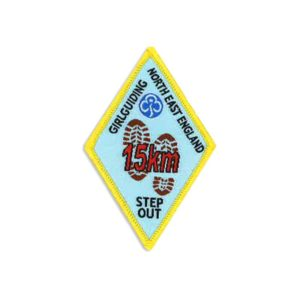 Step Out Badge – 15km