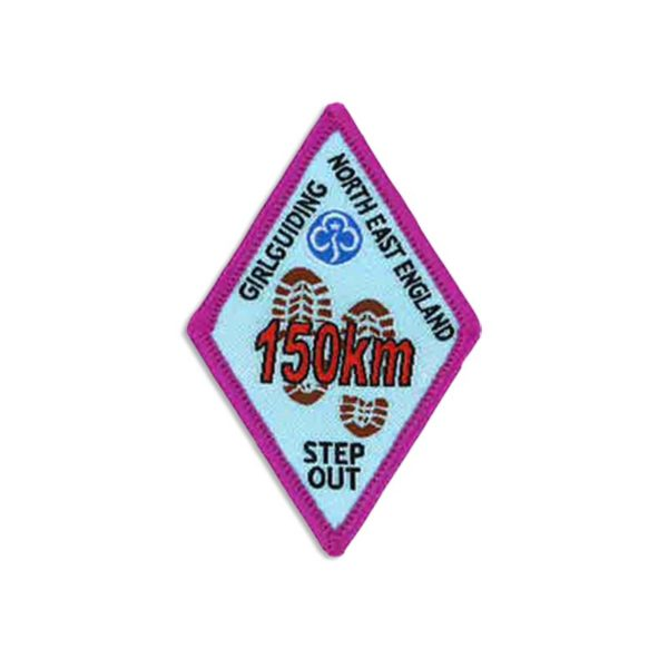 Step Out Badge – 150km