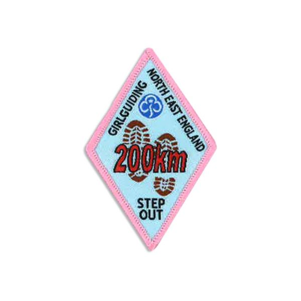 Step Out Badge – 200km