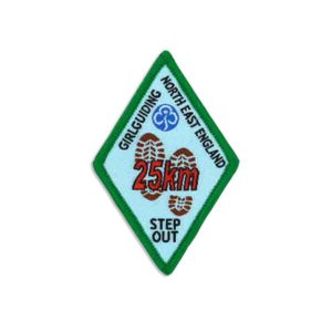 Step Out Badge – 25km