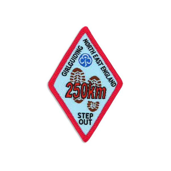 Step Out Badge – 250km