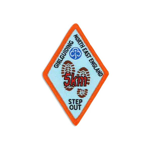 Step Out Badge – 5km