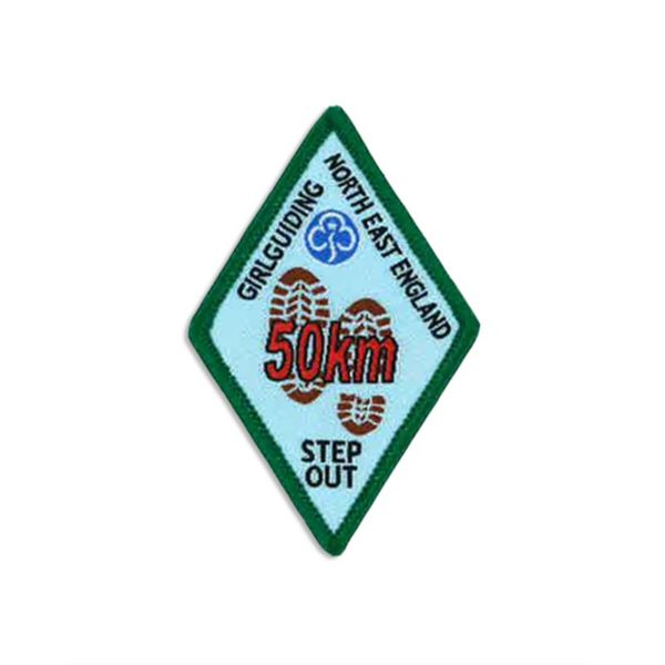 Step Out Badge – 50km