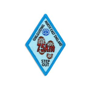 Step Out Badge – 75km